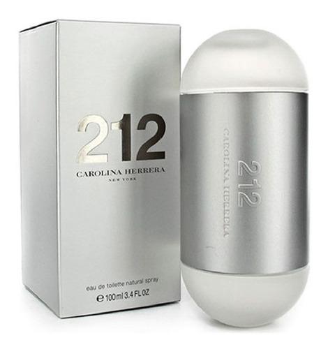 perfume importado 212 mujer 100 ml edt carolina herrera