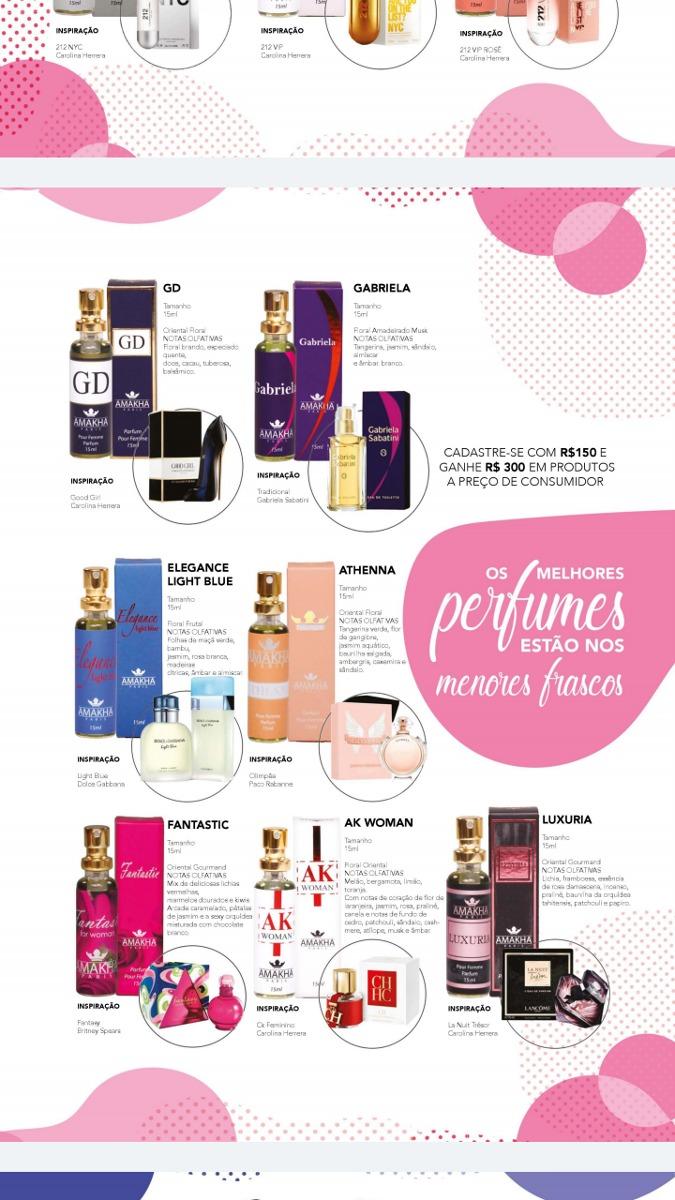 perfume importado barato - varias fragrâncias m f amakha. Carregando zoom. 07dab22a8d2