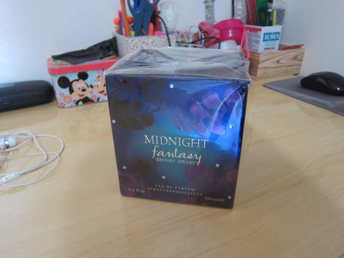 perfume importado britney spears midnight fantasy 100ml