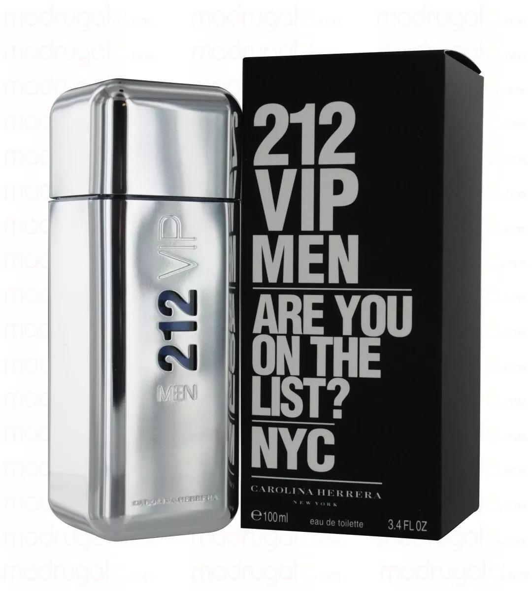 2da065a26 perfume importado carolina herrera 212 vip men edt x 100ml. Cargando zoom.