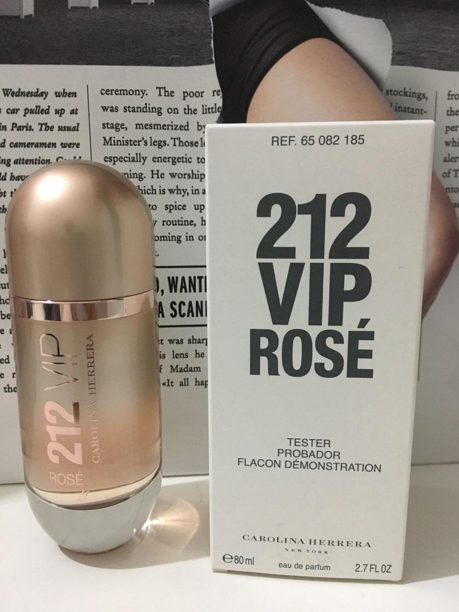 de959e3f1 perfume importado carolina herrera 212 vip rosé tester. Cargando zoom.