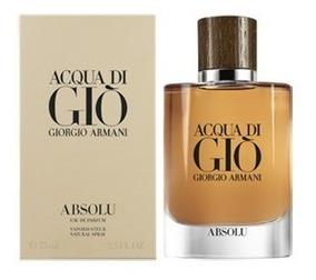 Hombre Homme 75ml Perfume Acqua Gio Di Absolu Importado Edp xBtrsdChoQ