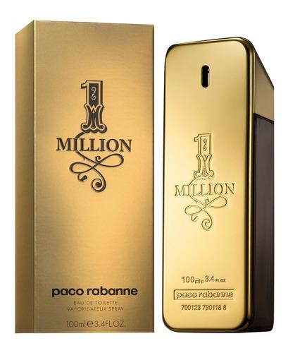 perfume importado hombre paco rabanne one million edt 100ml