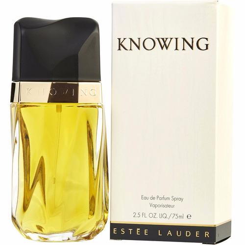 perfume importado knowing  estee lauder edp 75ml fem orig