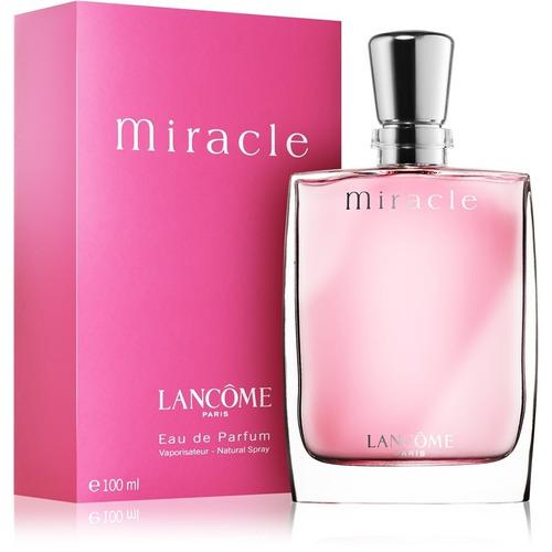 perfume importado miracle 100 ml edp mujer lancome