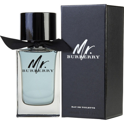 perfume importado mr burberry 100 ml hombre edp original