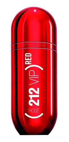 perfume importado mujer 212 vip rose red edt 80ml full