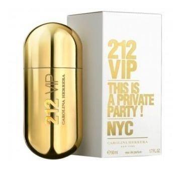 perfume importado mujer  carolina herrera 212 vip edp x 80ml