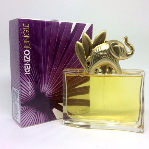 perfume importado mujer kenzo jungle elephant 100 ml edp