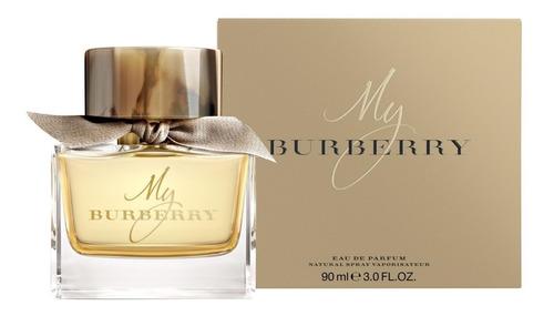 perfume importado  my burberry 90 ml edp mujer original