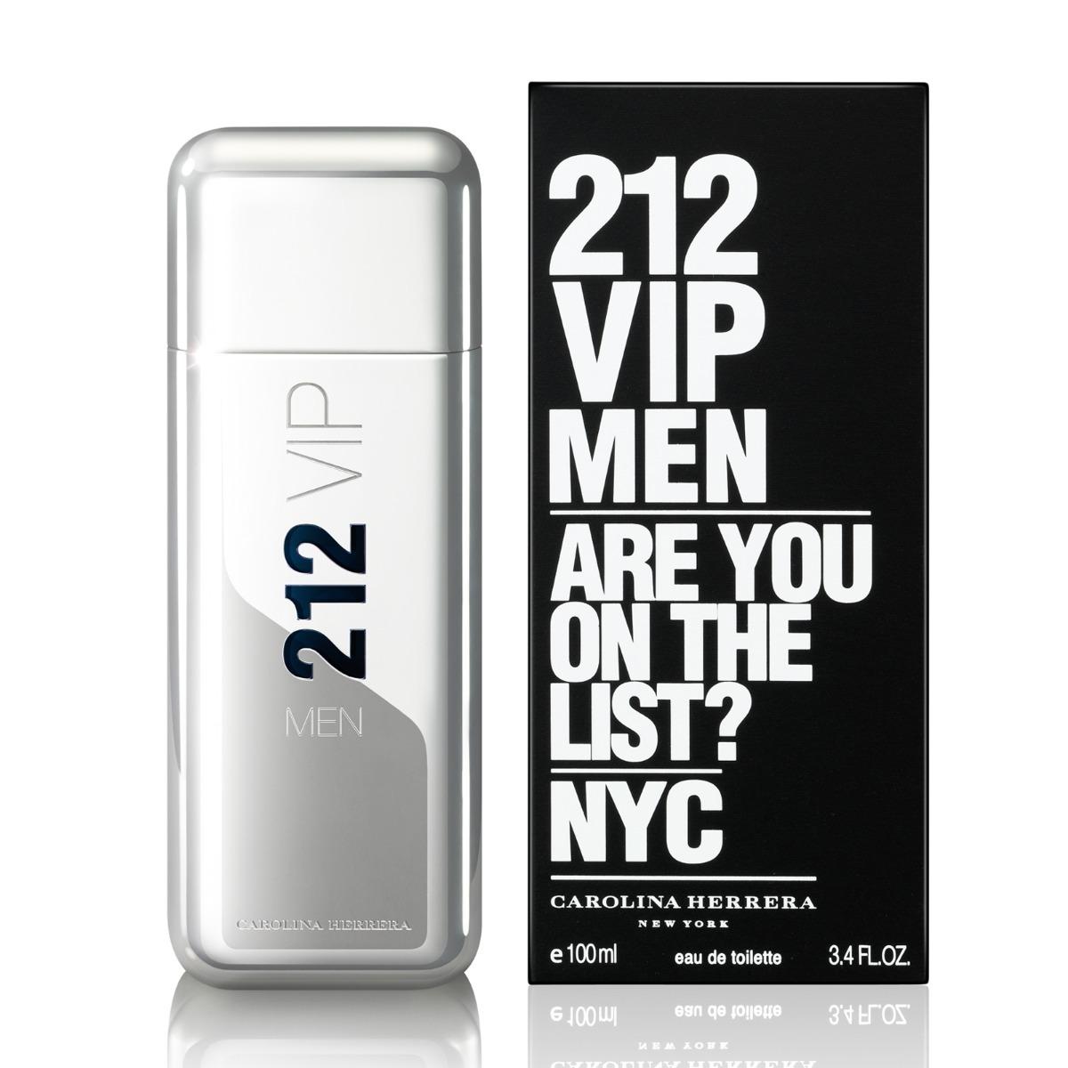 e047a26a2 perfume importado original carolina herrera 212 vip men 30ml. Carregando  zoom.