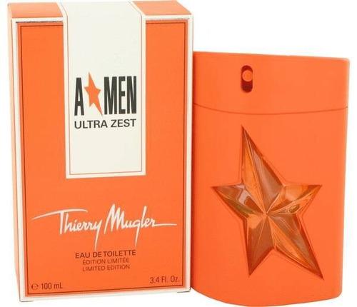 perfume importado oriignal thierrry mugler a*men ultra zest