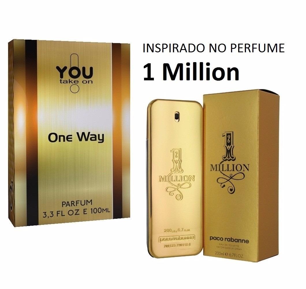 f721e075c Perfume Importado You One Way Inspirado 1 Million 100ml - R  139