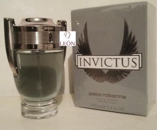 perfume invictus de paco rabanne 100% - ml a $1099