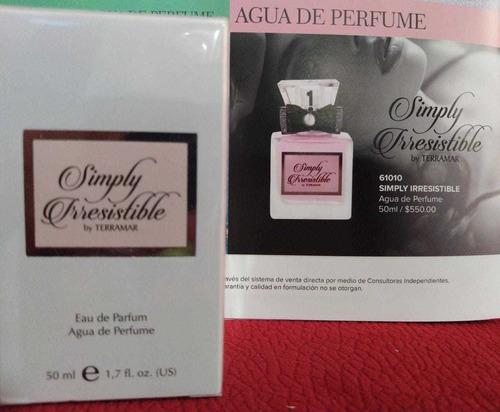 perfume irresistible, by terramar