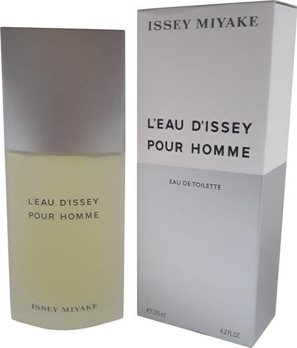 perfume issey miyake 125ml masc l'eau d'issey brinde amostra