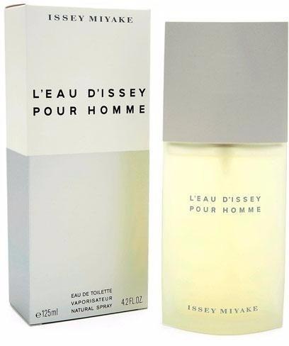 perfume issey miyake l eau d issey masculino 125ml lacrado