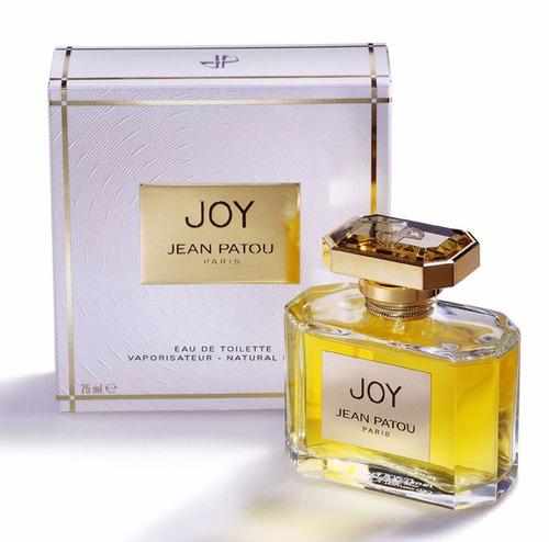 perfume jean patou joy feminino 75ml eau de toilette - novo