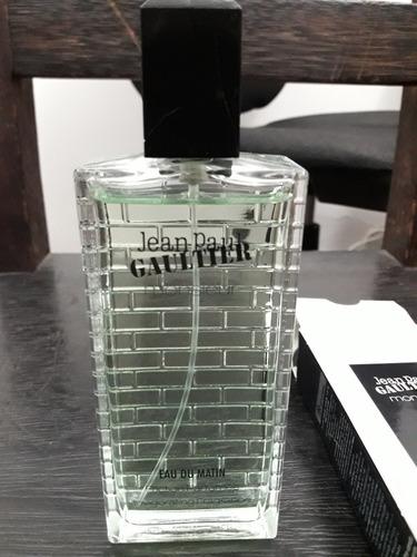 perfume jean paul gaultier monsieur eau du matin 100ml