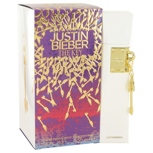 perfume justin bieber the key feminino 100ml edp - original