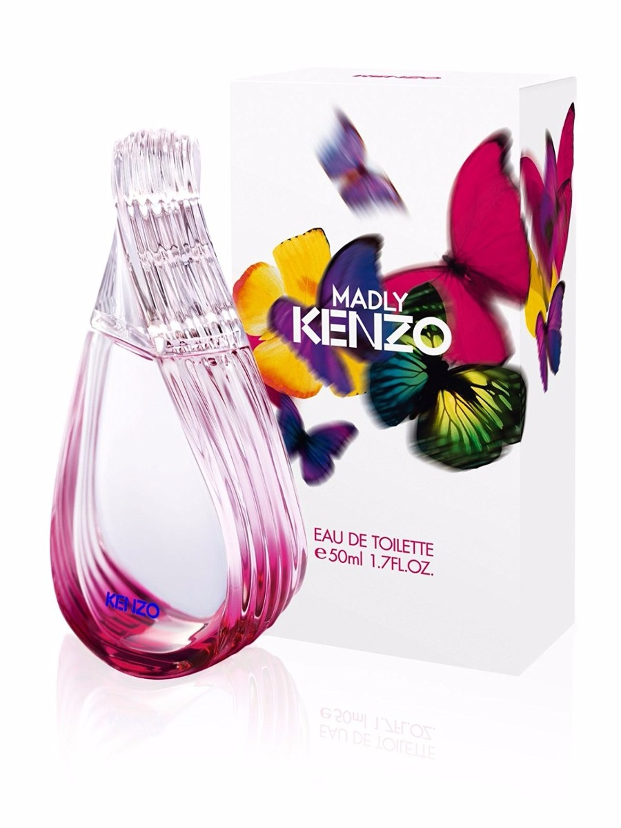 Kenzo Madly Celofan Env Eau 50ml Perfume Cerrado Toilette D IWD9E2H