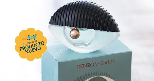 perfume kenzo world edp 30ml  mujer