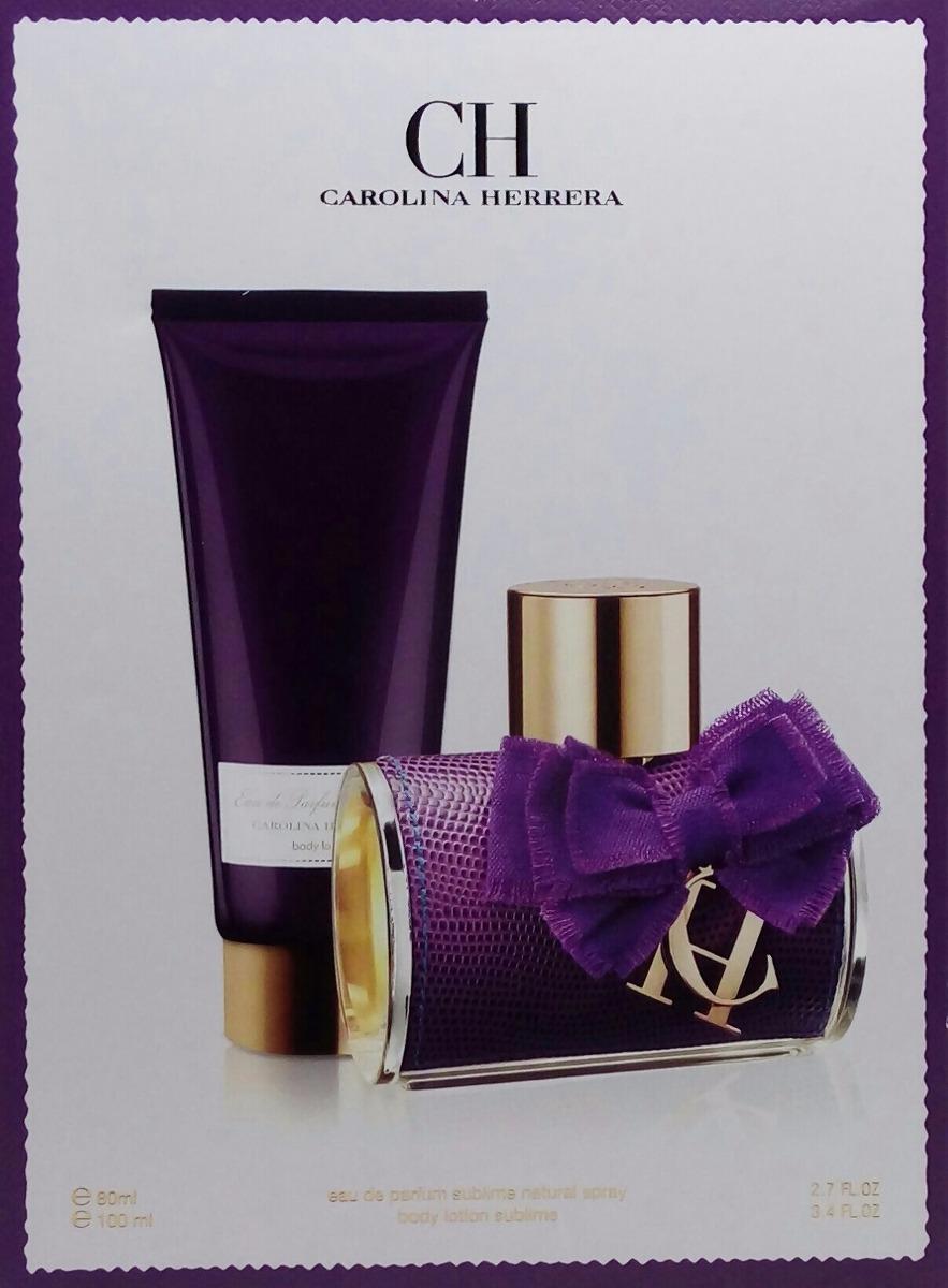 b5c3136941209 perfume kit ch sublime edp feminino c 02 itens original. Carregando zoom.