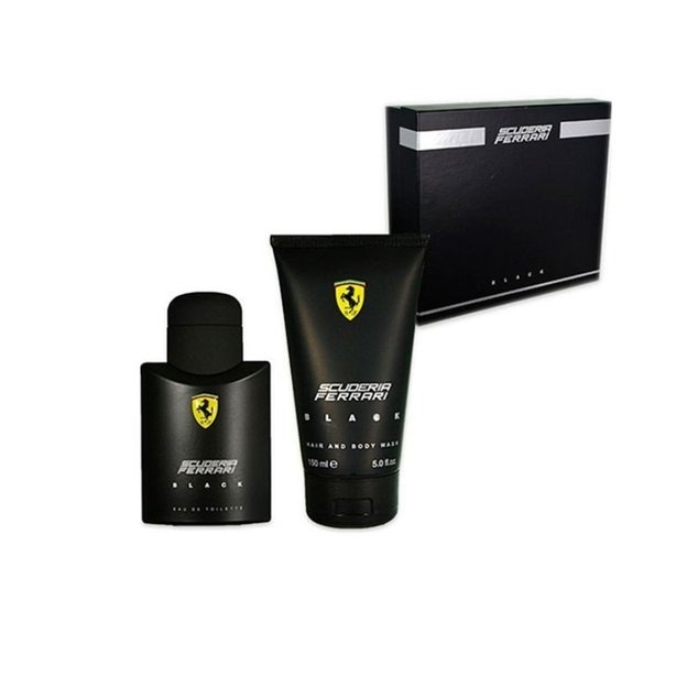 b45d0bfd9 Perfume Kit Ferrari Black 30ml + Shampoo Gel 150ml Original - R  120 ...