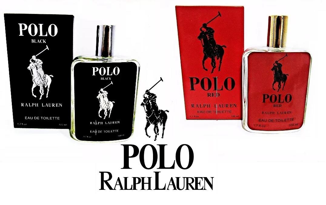 65d0ed259 perfume kit polo black+ polo 100% original fragrância. Carregando zoom.