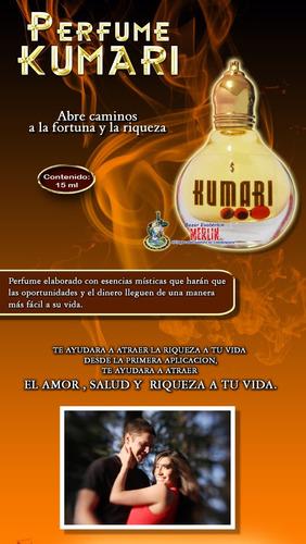 perfume kumari - abre caminos a la fortuna y juegos de azar