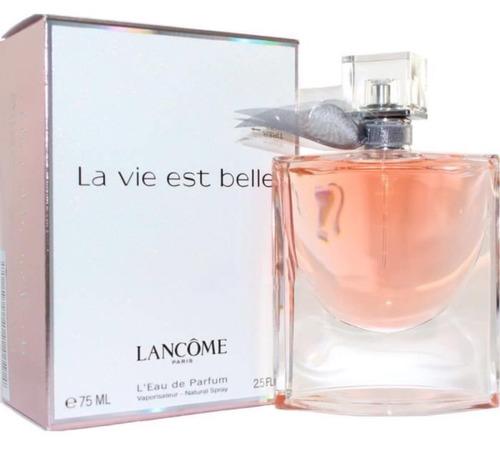 perfume la vie est belle edp 50 ml lancome importado