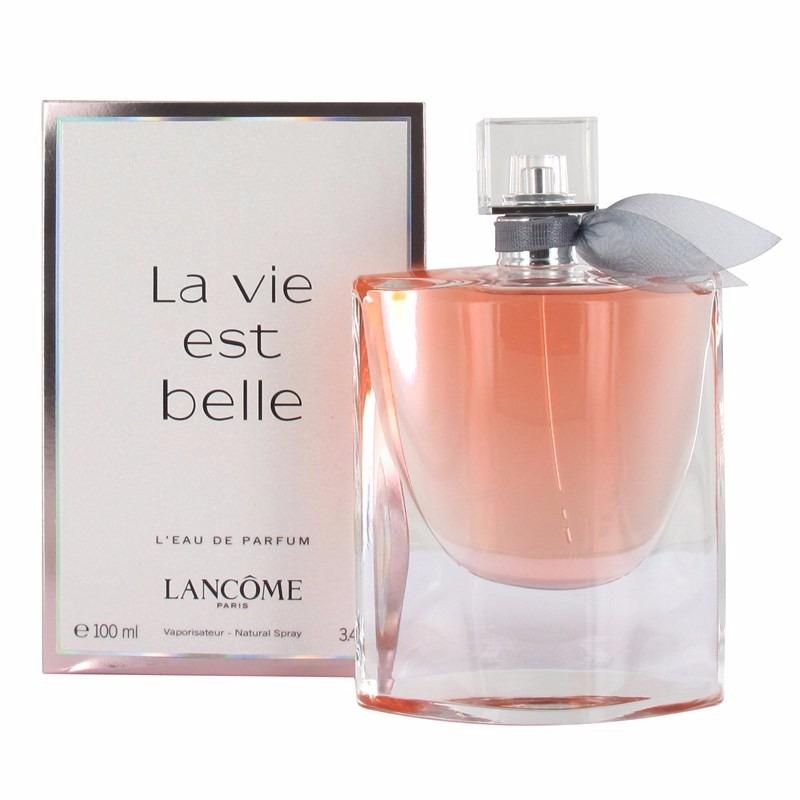 perfume la vie est belle lanc me feminino edp 100ml. Black Bedroom Furniture Sets. Home Design Ideas