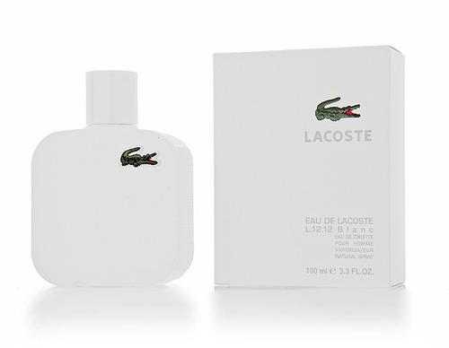 perfume lacoste blanc 100 ml men