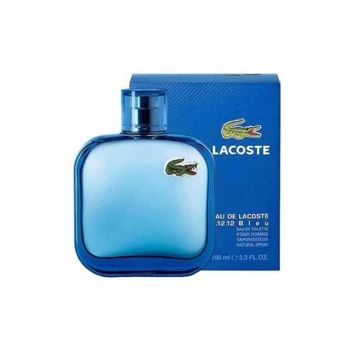 perfume lacoste bleu 100 ml men