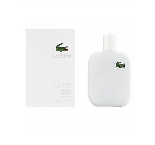 perfume lacoste eau blanc pure 175 ml  men