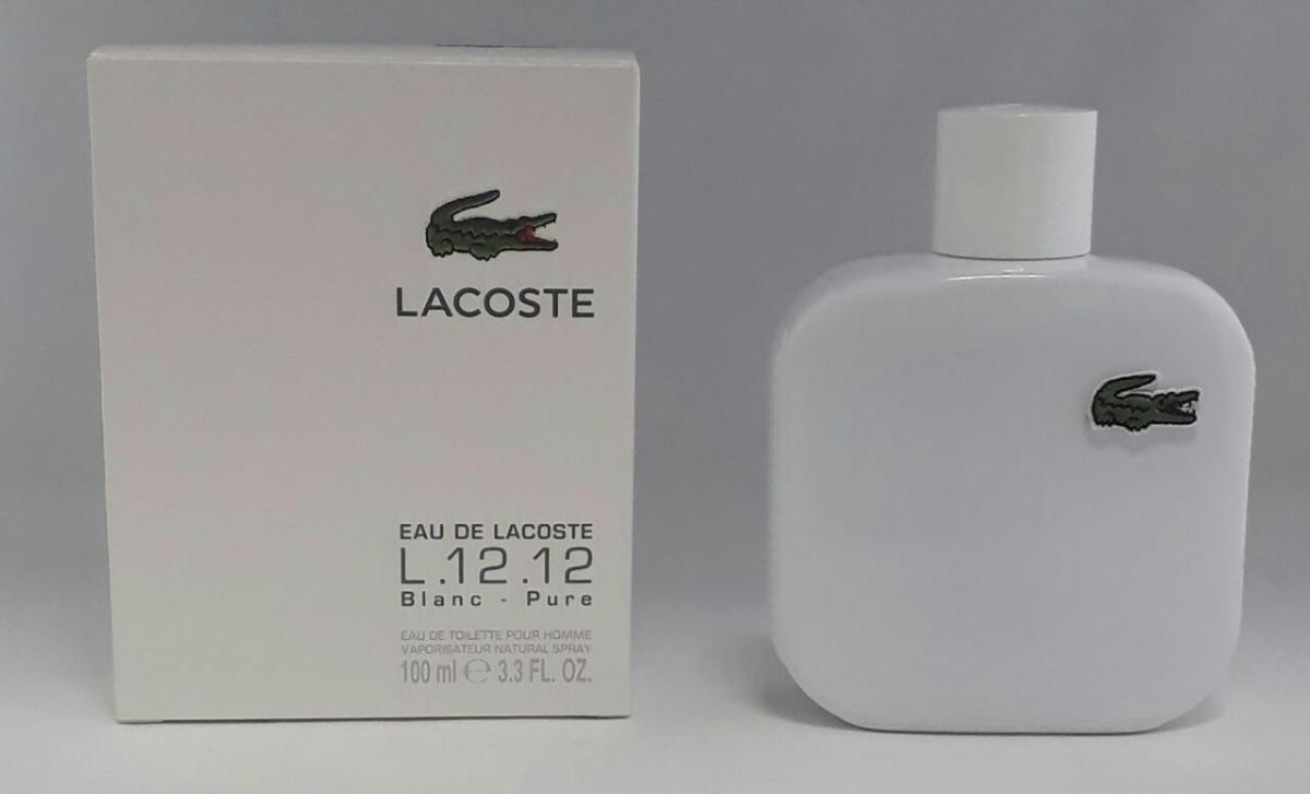 perfume lacoste eau de lacoste l.12.12 blanc edt 100 ml. Carregando zoom. 1d992f1d51