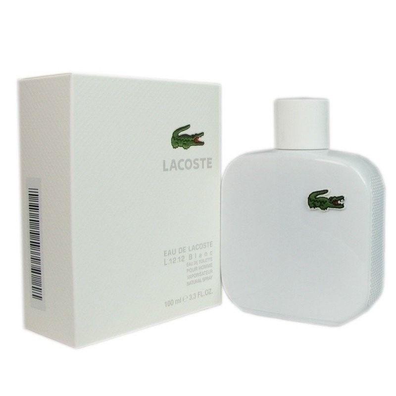 cc52ea6a86752 Perfume Lacoste L.12.12 Blanc Edt Masculino 100ml - R  313,83 em ...