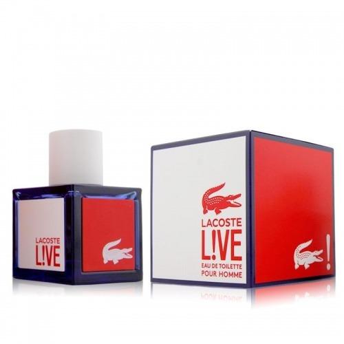 perfume lacoste live 100 ml men