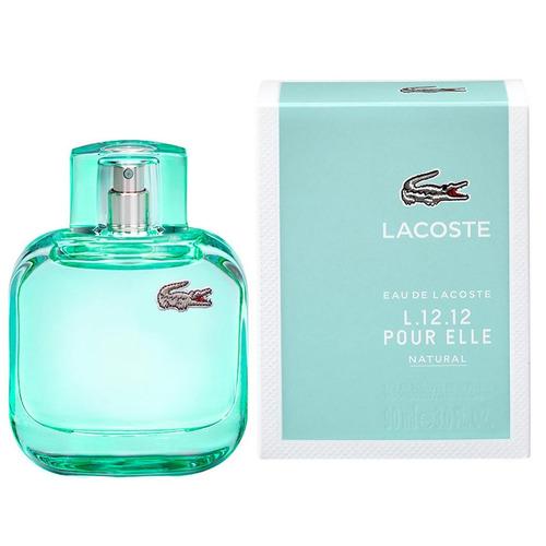 perfume lacoste natural  l.12.12 90 ml dama
