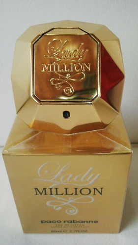 perfume lady million 80ml 100% origina - ml a $1438