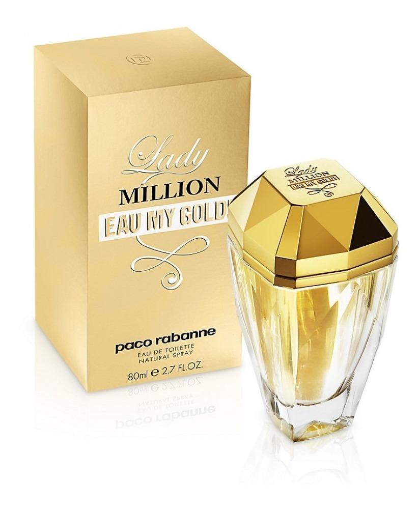 By Perfume My Gold Paco Para Eau Lady Mujer Million Rabanne 0PnwX8Ok