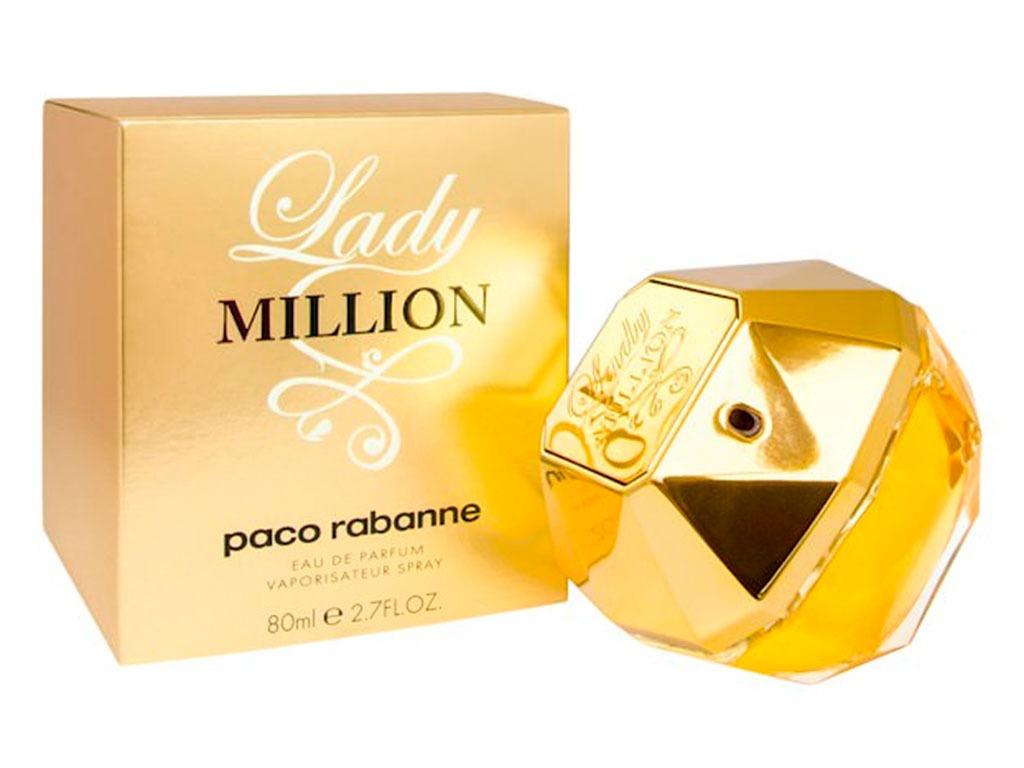 c9674487ee perfume lady million feminino 80ml edp paco rabanne original. Carregando  zoom.