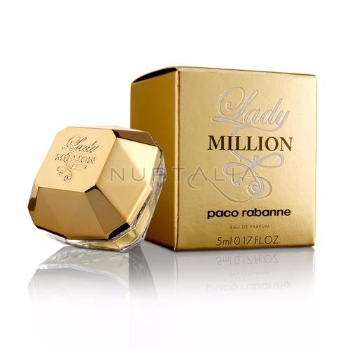 perfume lady million paco rabanne 80 ml  mujer