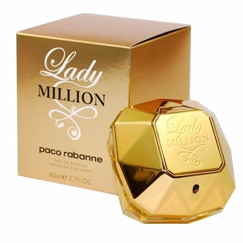 ed789c6ad Perfume Lady Million Paco Rabanne Dama 80ml Original Envío ...