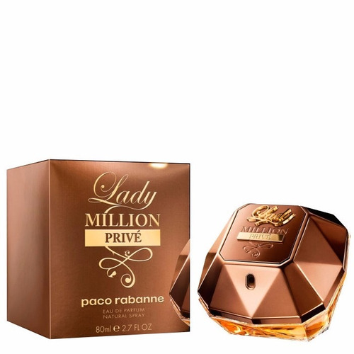 perfume lady million prive 80 ml by paco rabanne