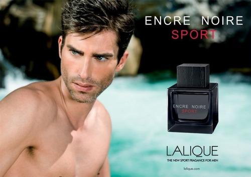 perfume lalique encre noire sport edt pour homme 100ml