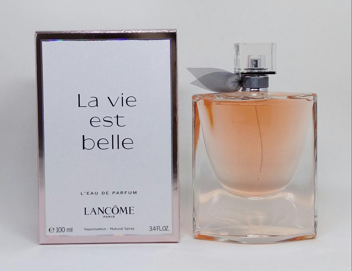 c7b196068 perfume lancome la vie est belle edp 100 ml original. Carregando zoom.