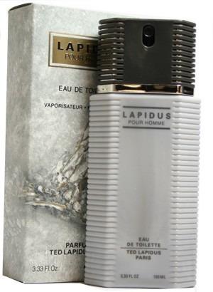 perfume lapidus pour homme 100 ml 100% original