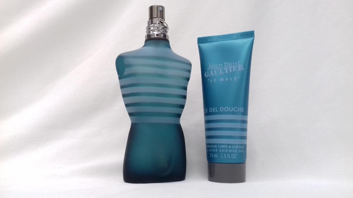 Perfume Le Male Edt Jean Paul Gaultier Hombre Cofre 125 Ml