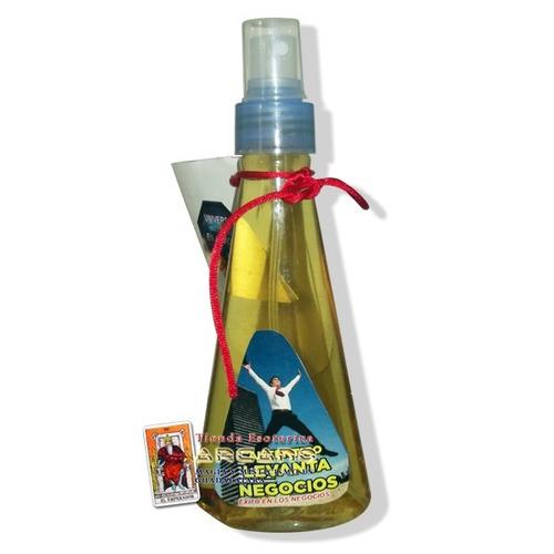 perfume levanta negocios - dinero, exito y buena suerte
